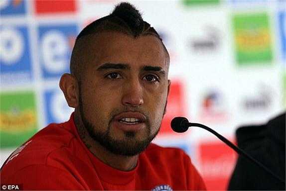 Vidal đưa ra lời xin lỗi: 'Tôi thực sự xấu hổ vì hành động thiếu kiểm soát của mình. Tôi sẽ làm mọi thứ để được mọi người tha thứ'.