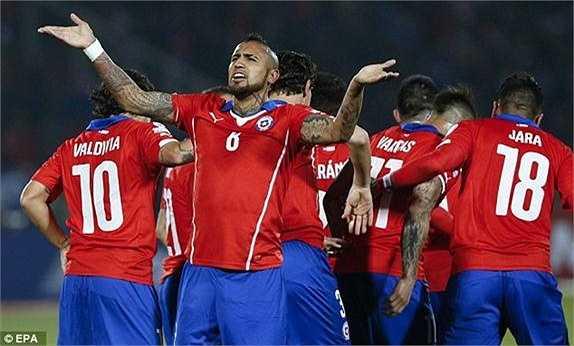 Tại Copa America 2015 lần này, Vidal đang là chân sút tốt nhất của Chile. Anh đã ghi được 3 bàn thắng kể từ đầu giải.