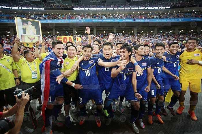 Trên đường tiến đến chức vô địch, U23 Thái Lan toàn thắng và thể hiện rõ sự 'vô đối' của mình tại khu vực.