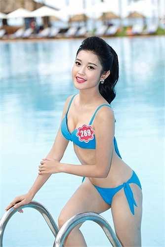 Á hậu Huyền My cũng là một nhan sắc 20 tuổi trẻ trung, cuốn hút.