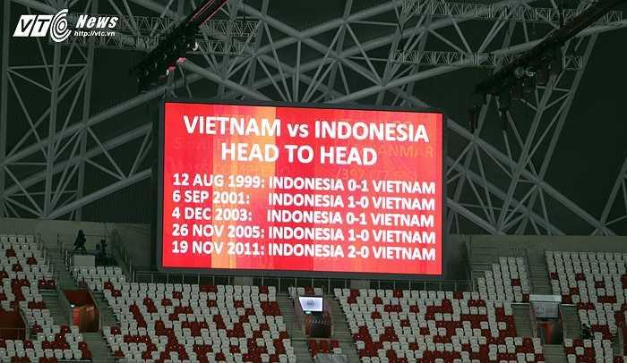 Lịch sử đối đầu căng thẳng giữa hai nền bóng đá Việt Nam và Indonesia hứa hẹn một cuộc đấu trí hấp dẫn ở trận tranh hạng 3 SEA Games. (Ảnh: Phạm Thành)