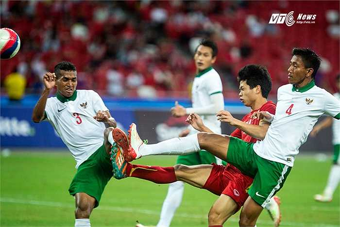 Thất bại cay đắng ở SEA Games là đòn giáng mạnh tiếp theo vào bóng đá Indonesia sau khi bóng đá nước này bị FIFA trừng phạt hồi cuối tháng 5.(Ảnh: Phạm Thành)