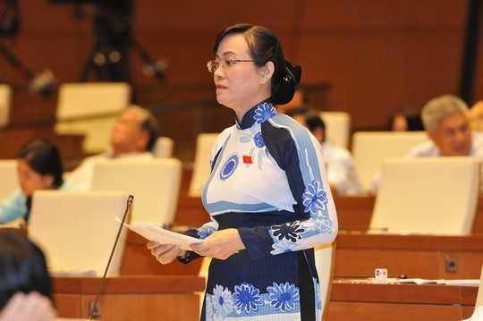 Đại biểu Nguyễn Thị Quyết Tâm (TP.HCM)
