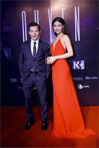 Rất nhiều sao Việt cũng đến tham dự bữa tiệc. Á hậu Diễm Trang.