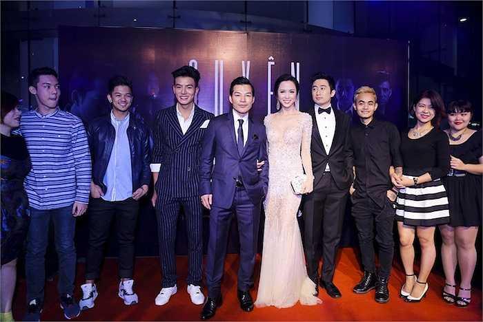 Dàn diễn viên của 'Quyên' và Top 7 Vietnam Idol 2015.