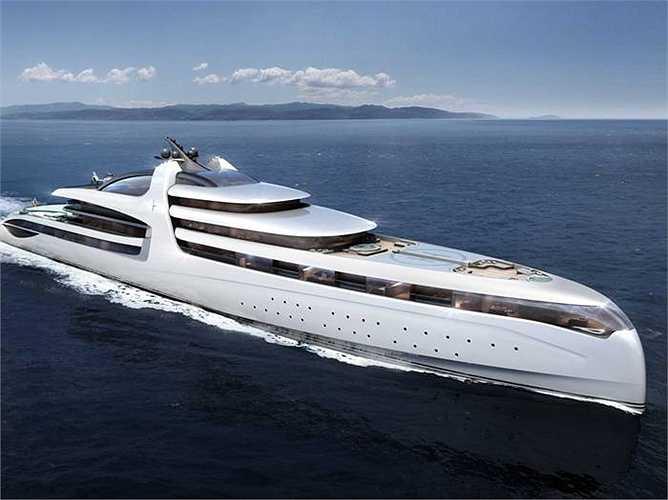 Du thuyền Admiral X Force 145 sắp được hoàn thành sẽ là du thuyền đắt nhất thế giới có giá lên đến 1 tỷ USD