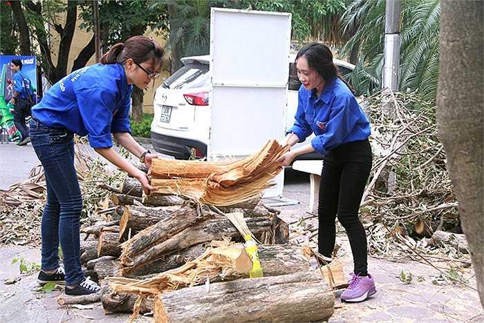 ThS. Lâm Tùng, Chủ tịch Hội Sinh viên đã báo cáo kế hoạch hoạt động trong chiến dịch năm 2015 của tuổi trẻ nhà trường với 16 đội hình hoạt động tại 14 tỉnh, thành phố miền Bắc với hơn 600 sinh viên tình nguyện tham gia
