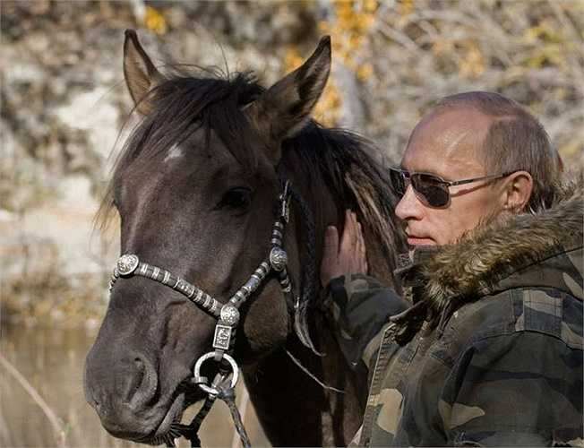 Khi nhà lãnh đạo Nga hoà mình với thiên nhiên