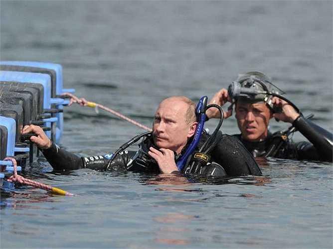 Ông Putin chuẩn bị chuyến thám hiểm dưới Biển Đen
