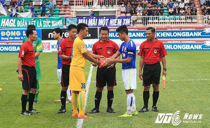 HAGL bước vào trận đấu tranh suất vào tứ kết Cup Quốc gia với CAND. (Ảnh: Minh Trần)