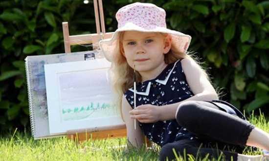 Heidi Hankins (SN 2008, ở Anh) có chỉ số IQ khi mới 4 tuổi. Cô bé biết đọc, viết lúc lên 2 tuổi. Ngoài ra, Heidi có tài vẽ tranh phong cảnh bằng màu nước rất đẹp và có cách quan sát, nhìn nhận thế giới khá tinh tế.