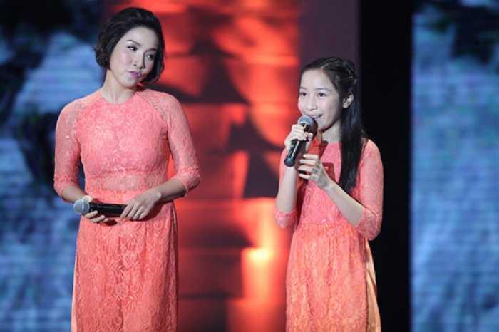 Mỹ Anh là cô bé được đánh giá cao về khả năng ca hát.