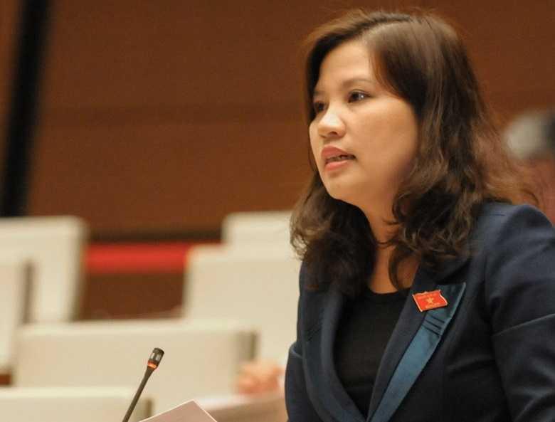 đại biểu Đinh Thị Phương Lan (Quảng Ngãi)