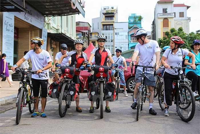 Chia sẻ tại chương trình đạp xe, Đại sứ Ted Osius, cho biết trong vòng 40 năm qua, thế giới đã mất đi hơn một nửa sự đa dạng trên trái đất