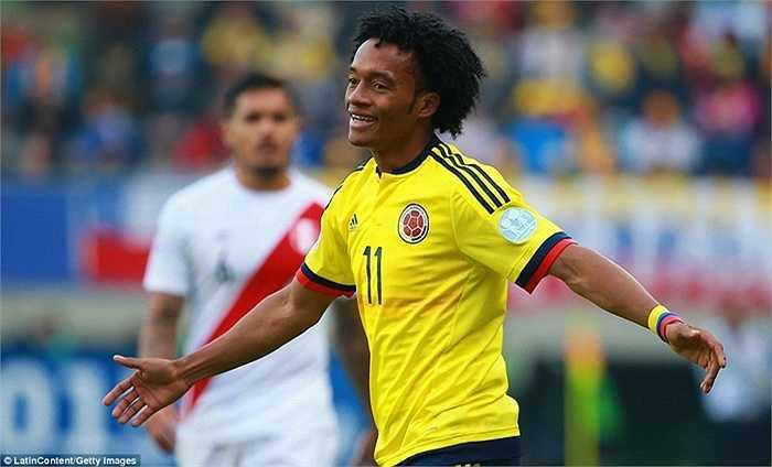 Juan Cuadrado, một ngôi sao khác của Colombia, cũng chơi chưa tương xứng ở kỳ vọng ở giải năm nay