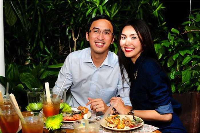 Bước chân vào làm con dâu gia đình giàu có, tên tuổi Tăng Thanh Hà dường như càng trở nên 'nóng' hơn trên các mặt báo.