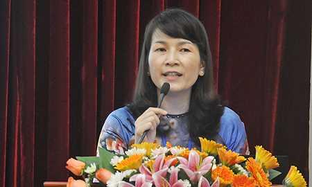 Hiệu trưởng Trường THCS&THPT Nguyễn Thị Thu Anh