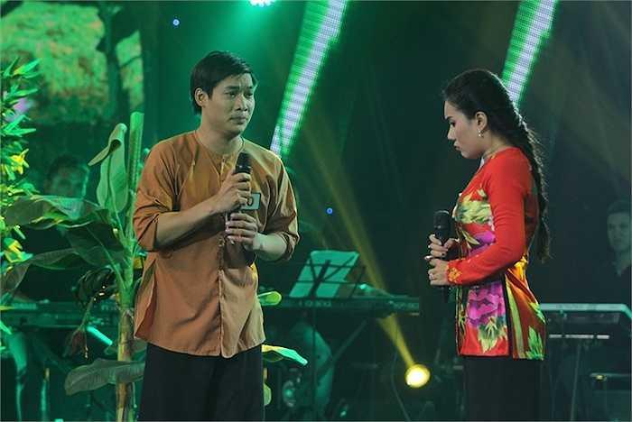 Với phần thi song ca, Minh Đăng mang đến tiết mục vô cùng hài hước và vui nhộn khi thể hiện ca khúc Phải duyên hai nợ cùng nữ ca sỹ trữ tình Thy Nhung.