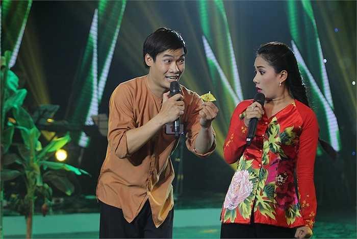 Trước đêm thi, Minh Đăng cho biết khá khớp bởi giọng hát đầy ngọt ngào và mềm mại của Thy Nhung. Chính vì thế, Thy Nhung đã phải cố gắng động viên và giúp Minh Đăng rất nhiều để có thể bớt căng thẳng và tạo cho mình sự hài hước trên sân khấu.