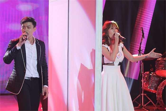 Với 1 ngôi sao xanh từ tuần trước, phần thi ca hát được xem là trở ngại khá lớn đối với Annie Huỳnh Anh.