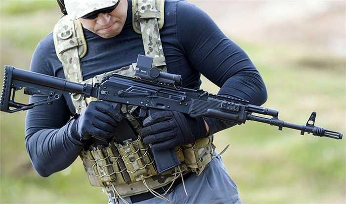 Bắn thử súng trường AK-74M