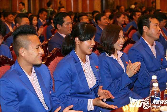 Đáng chú ý, các vận động viên Việt Nam đã lập 13 kỷ lục SEA Games. Riêng Ánh Viên phá 8 kỷ lục SEA Games, giành 8 HCV. (Ảnh: Quang Minh)