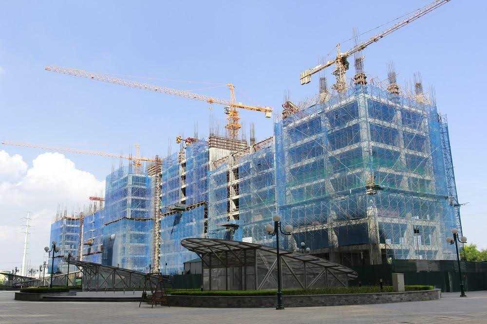 Dự án có tiến độ thi công nhanh chóng và an toàn.