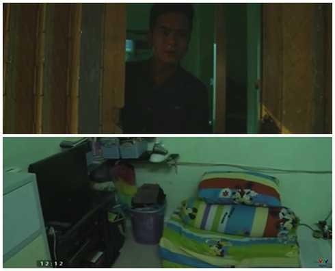 Căn nhà đi thuê của 'bé An' Hùng Thuận.