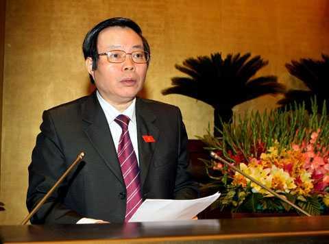 Ông Phùng Quốc Hiển – Chủ nhiệm Uỷ ban Tài chính ngân sách của Quốc hội
