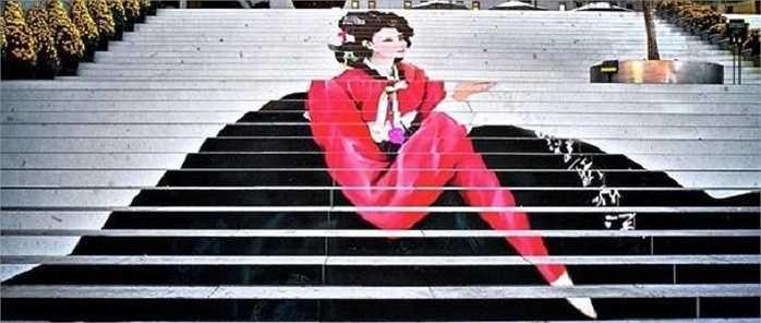 Những bậc thềm dẫn lên Sân khấu nhạc kịch ở Seoul, Hàn Quốc