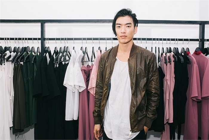 Người mẫu Brian Trần