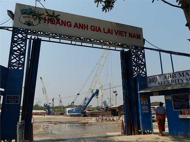 Dự án 'Khu phức hợp Hoàng Anh Gia Lai Myanmar' tọa lạc tại khu vực đắc địa nhất của thành phố Yangon, được đầu tư theo hình thức BOT với thời gian 70 năm. Đây là dự án rất lớn đối với Myanmar cũng như Việt Nam và trở thành trung tâm văn hóa kinh tế của Việt Nam tại Myanmar.