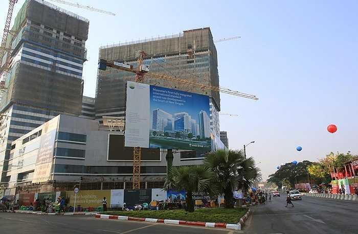 Giá cho thuê văn phòng ở dự án trung bình 62 USD/m2/tháng.