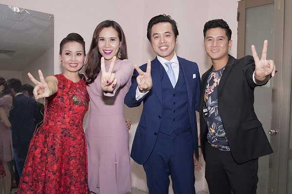 Dàn giám khảo năm nay bao gồm: Cẩm Ly, Lưu Hương Giang - Hồ Hoài Anh, Dương Khắc Linh.