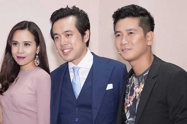 Cặp đôi HLV Lưu Hương Giang - Hồ Hoài Anh xuất hiện khá sành điệu, chỉn chu như những gì đã từng thể hiện trong 2 mùa trước.