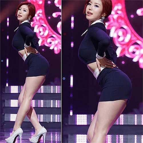 Jeon Hyo Sung sở hữu hình thể tuyệt đẹp và cô rất biết cách khoe vẻ đẹp vốn có.