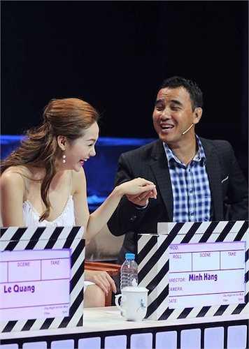 Trong đêm gala, giám khảo Minh Hằng sẽ có một tiết mục hát kết hợp dancesport vô cùng ấn tượng.