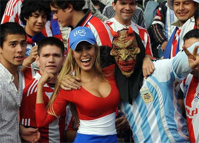 Những cô nàng Paraguay luôn nóng bỏng, cuồng nhiệt.