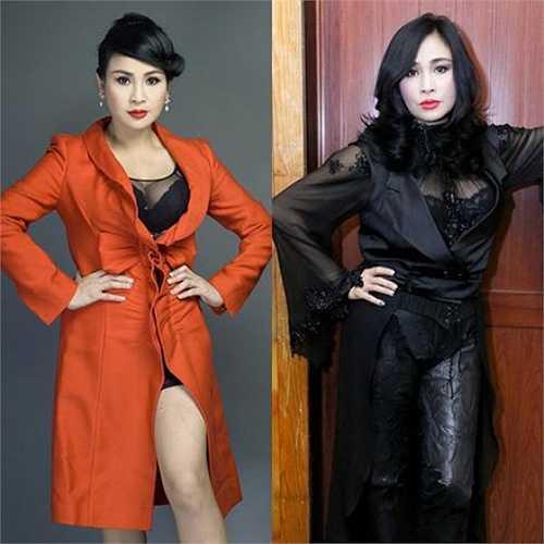 Thanh Lam cũng là ca sỹ chuộng phong cách sexy.