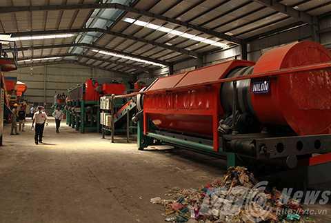 Đà Nẵng, nhà máy, xử lý rác, tái chế, đầu tiên, Việt Nam, môi trường