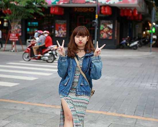 Khánh Vân hiện đang là sinh viên năm 2, ngành Thiết kế thời trang, trường Quốc tế ADS International Design & Art Center.