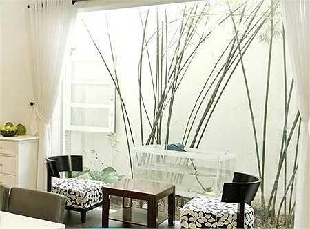 Ngôi nhà được thiết kế tiện nghi, với không gian rộng rãi là nơi anh và gia đình có những phút giây hạnh phúc sau một ngày làm việc vất vả.