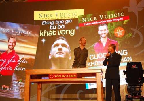 """Thời gian Nick Vujicic đến Việt Nam là giá cổ phiếu của HSG """"lên như diều gặp gió"""""""