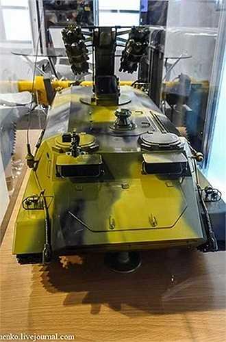 Hoặc nhà sản xuất còn phát triển phương án lắp các tên lửa Igla-S lên khung bệ xe thiết giáp
