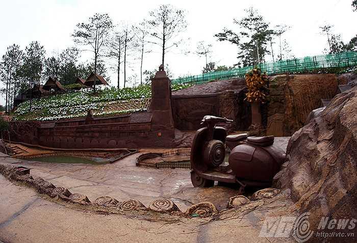 Cao nguyên Langbiang với những truyền thuyết về thiên nhiên hoang đã được khắc họa đầy đủ.