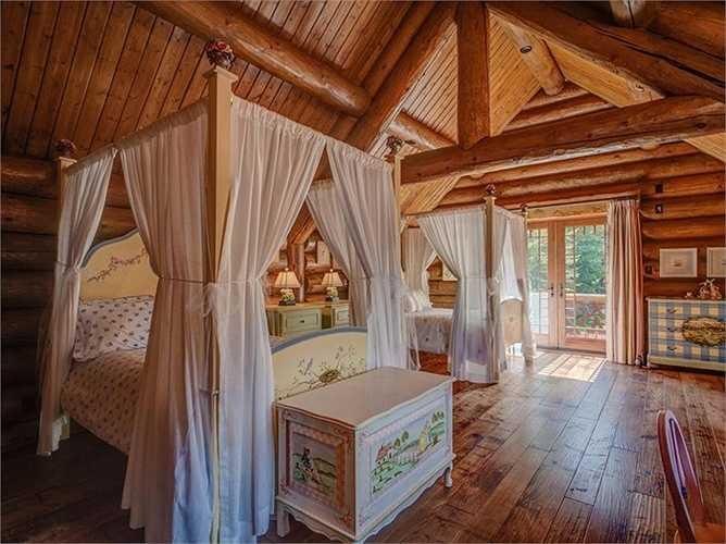 Phòng ngủ của con trẻ thì mơ mộng như trong những câu chuyện cố tích.