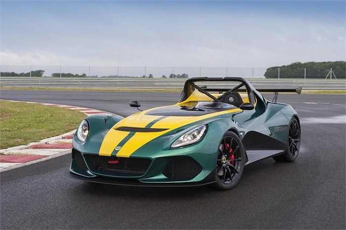 Dựa trên cơ sở dòng xe Exige của Lotus, 3-Eleven là một chiếc xe mui trần hướng tới cảm giác lái tối ưu nhờ có trọng lượng siêu nhẹ.