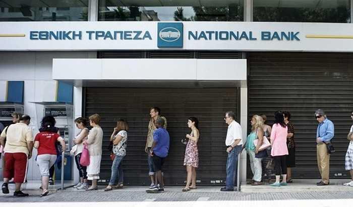 Theo thông tin mới nhất, sáng 29/6, chính quyền Hy Lạp quyết định đóng cửa ngân hàng để kiểm soát vốn