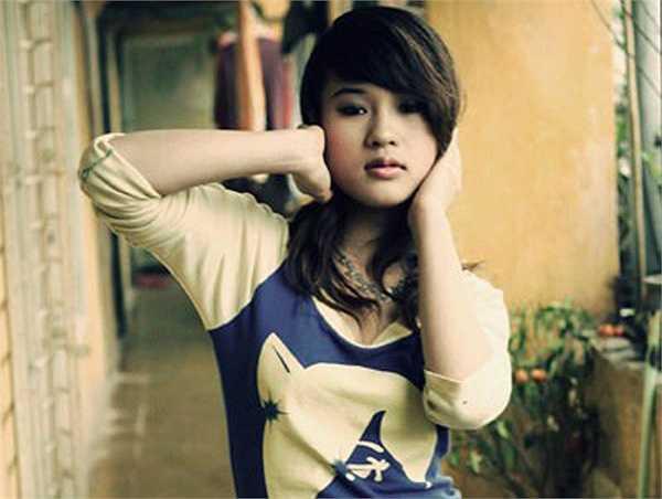 Hình ảnh hotgirl Diễm Hằng sau khi nổi tiếng từ Nhật ký Vàng Anh.