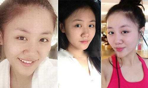 Văn Mai Hương sau khi giảm cân không hề có nếp nhăn trên khuôn mặt. Thậm chí cô còn được khen ngợi bởi có làn da căng.